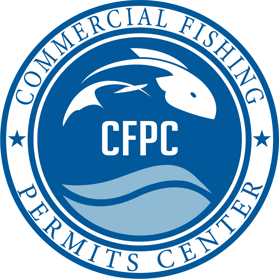 commercial fishing permits logo